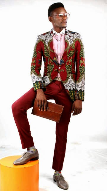 Nigeria Ankara Fashion Styles For Men: Ankara Blazers Designs ...