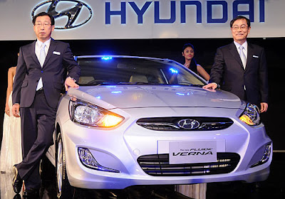 Picture 2 The all new Hyundai Verna released in Indian auto market