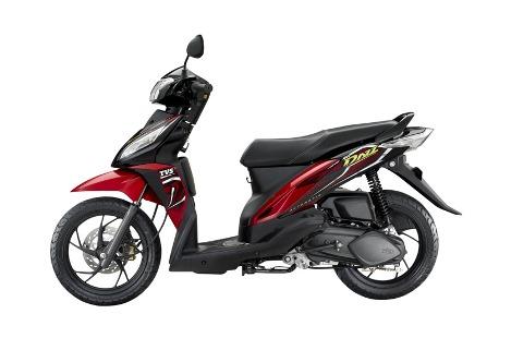 Motor Matik terbaru TVS Dazz