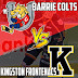Game Video Recap: Barrie Colts win 4-2 over Kingston. #OHL