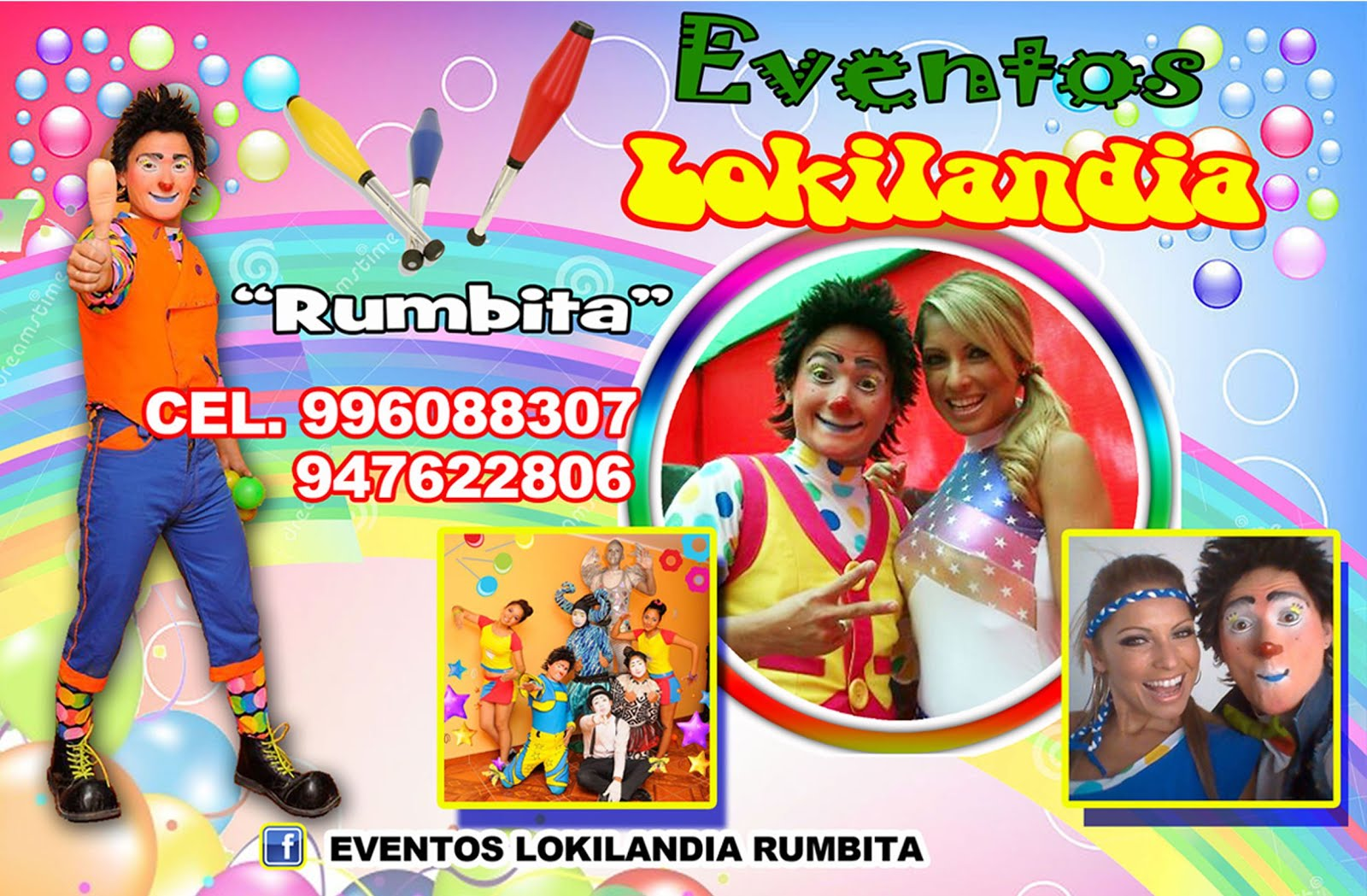 "EVENTOS LOKILANDIA ""RUMBITA"""