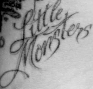 lady gaga little monsters tatuaje