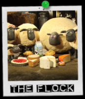 Shaun The Sheep the flock
