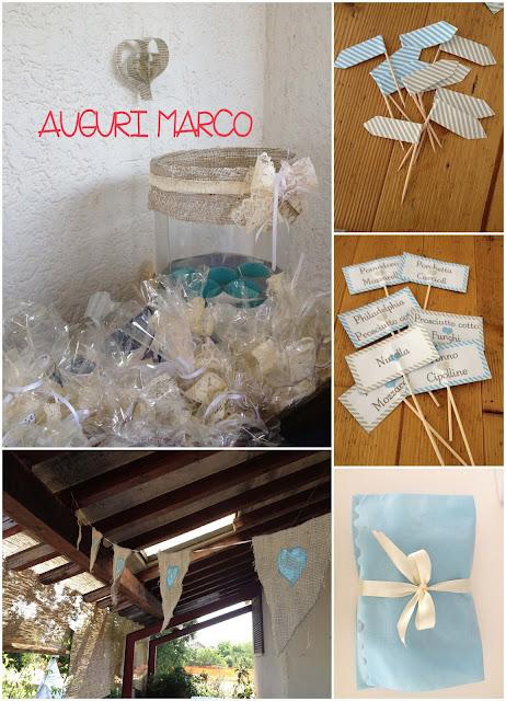 semplicemente perfetto wedding party planner compleanno bianco azzurro