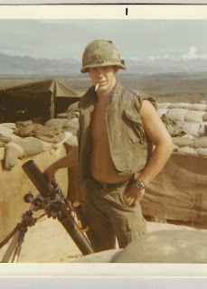 My Uncle Michael, my mom's brother, Vietnam, Army