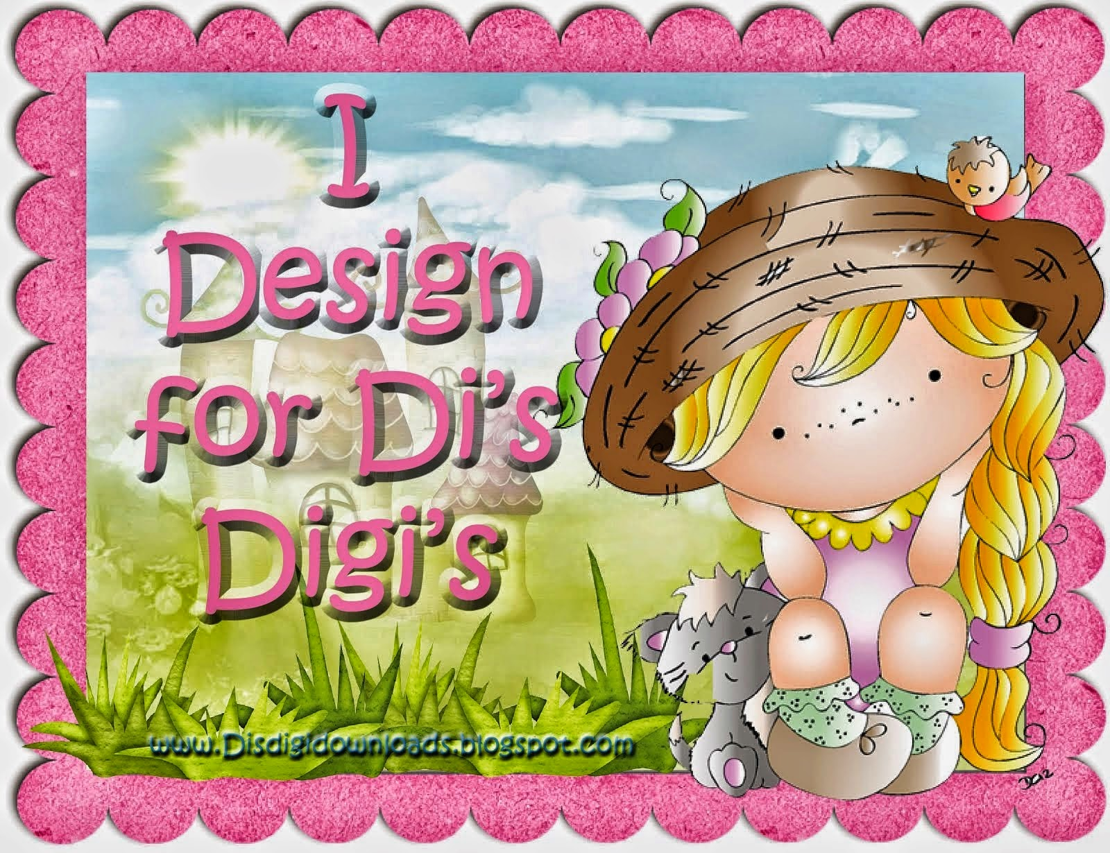 Proud To Design For Di's DigiStamps