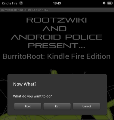 kindle fire root app 2 run the root app and click root 3 on your