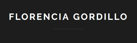 Florencia Gordillo