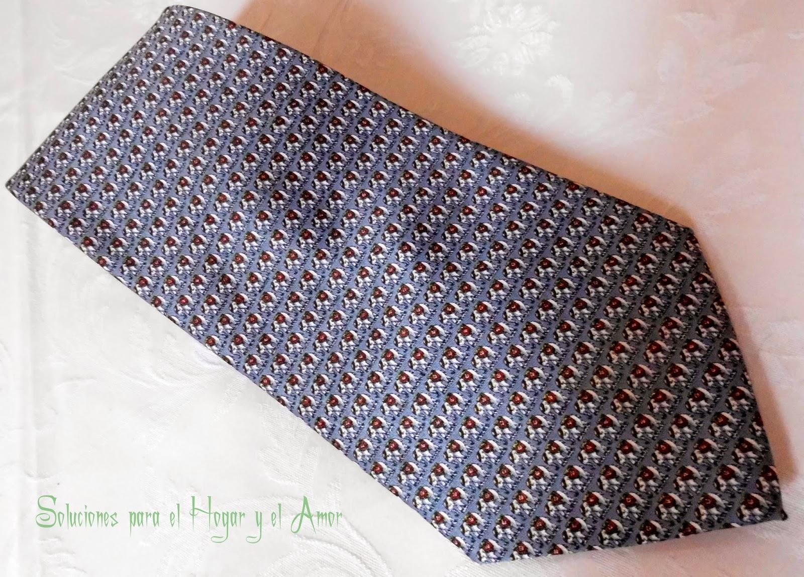 Corbata, tela de seda para corbatas