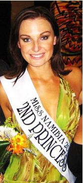 Susan van Zyl is the Miss Supranational Namibia 2011