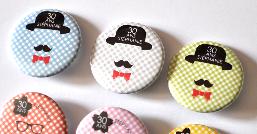badges et magnets personnalisables en vente ici partir de 30 exemplaires me contacter - Badges Personnaliss Mariage