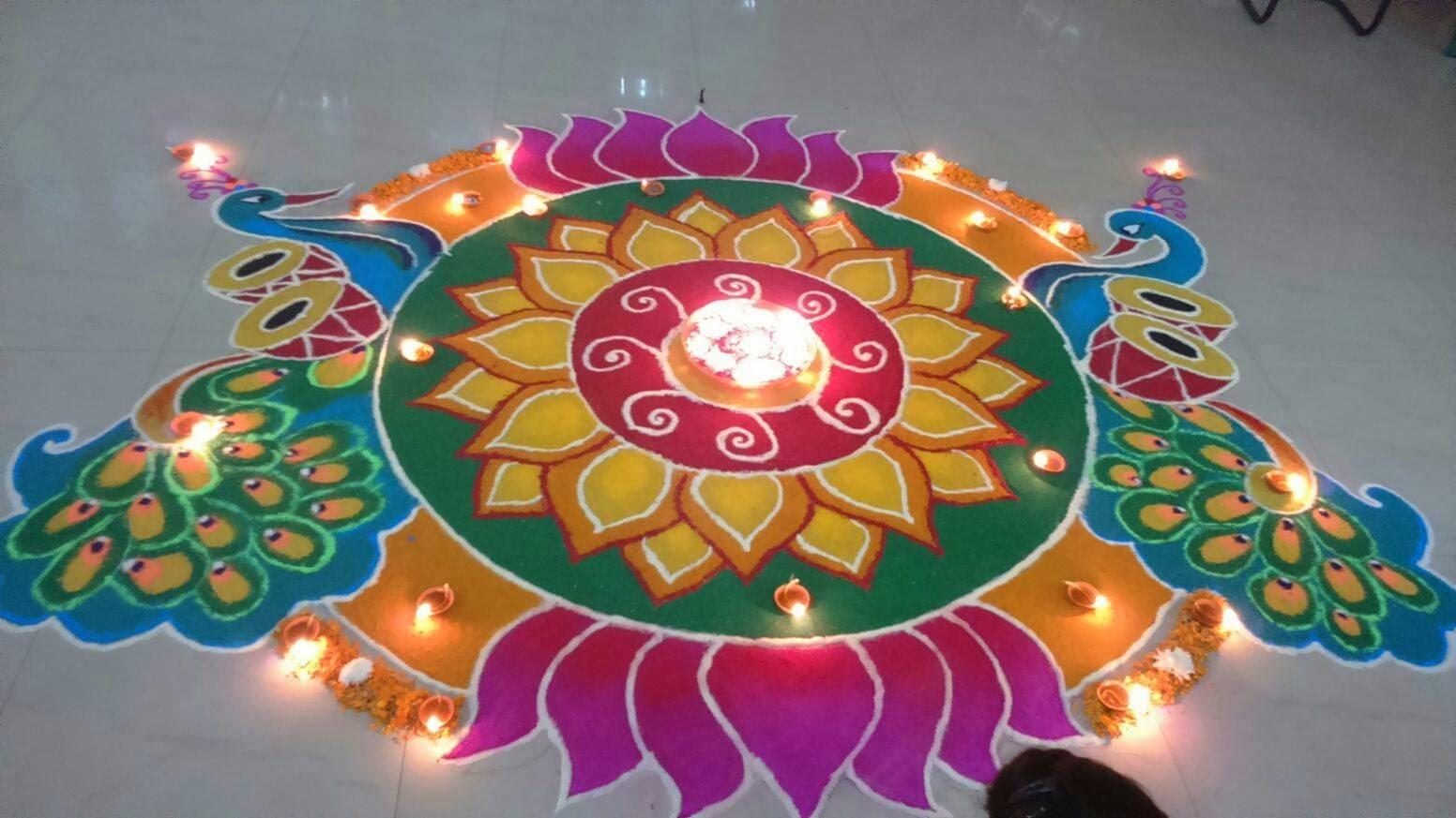 Rangoli Diwali Collection 11
