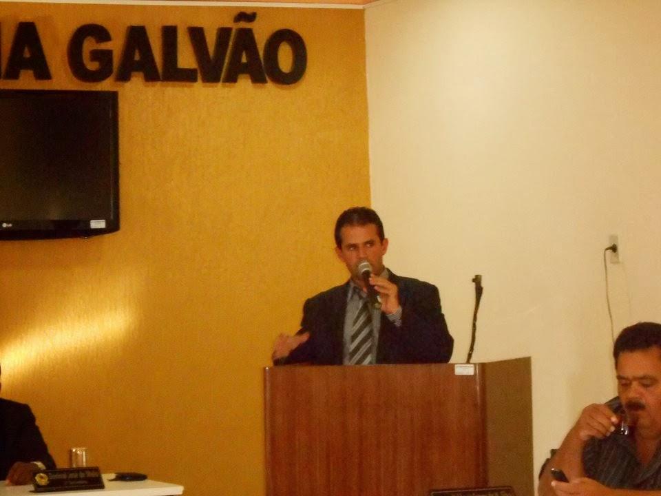 Novo presidente da câmara, Manoel Caboclo, faz convite à população