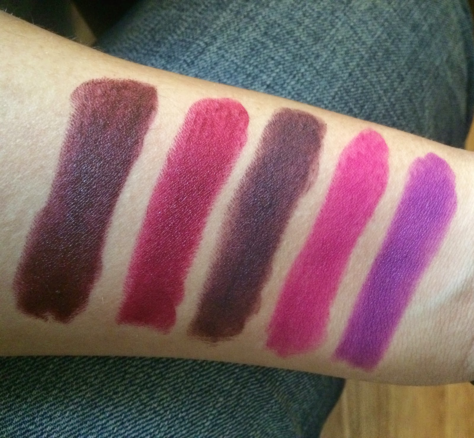 Souvent fabul[ASH]: My MAC Lipstick Collection w/ Swatches HG87