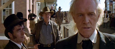 Richard Harris as English Bob in Unforgiven