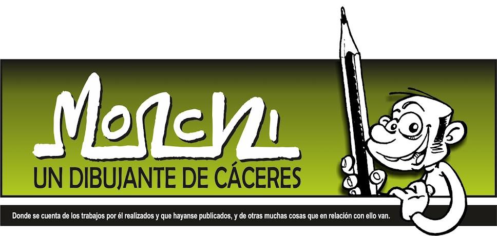 Monchi, un dibujante de Cáceres