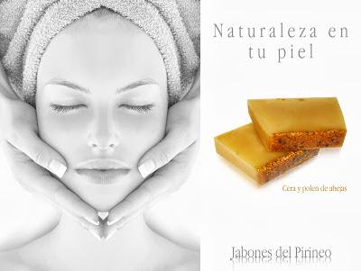 Jabón Natural de Cera de Abejas y Polen