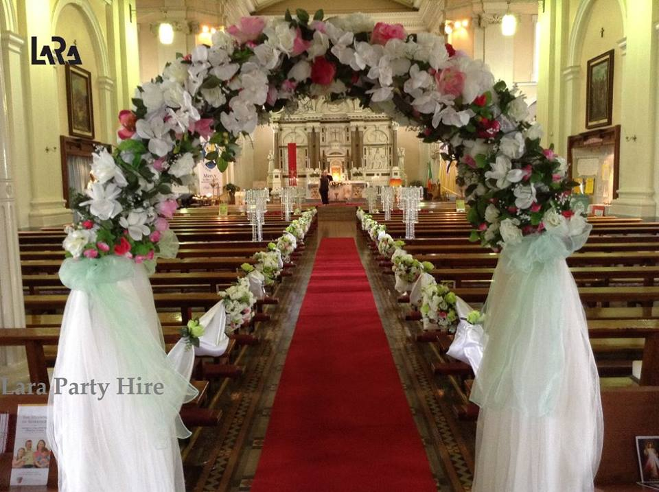 Lara party hire wedding arch 100 junglespirit Images