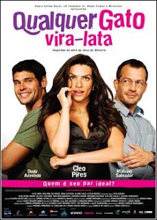 Download - Qualquer Gato Vira-Lata DVDRip - AVI - Nacional