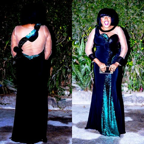 Toyin Aimakhu's Outfit To An Event - Hit Or Miss?