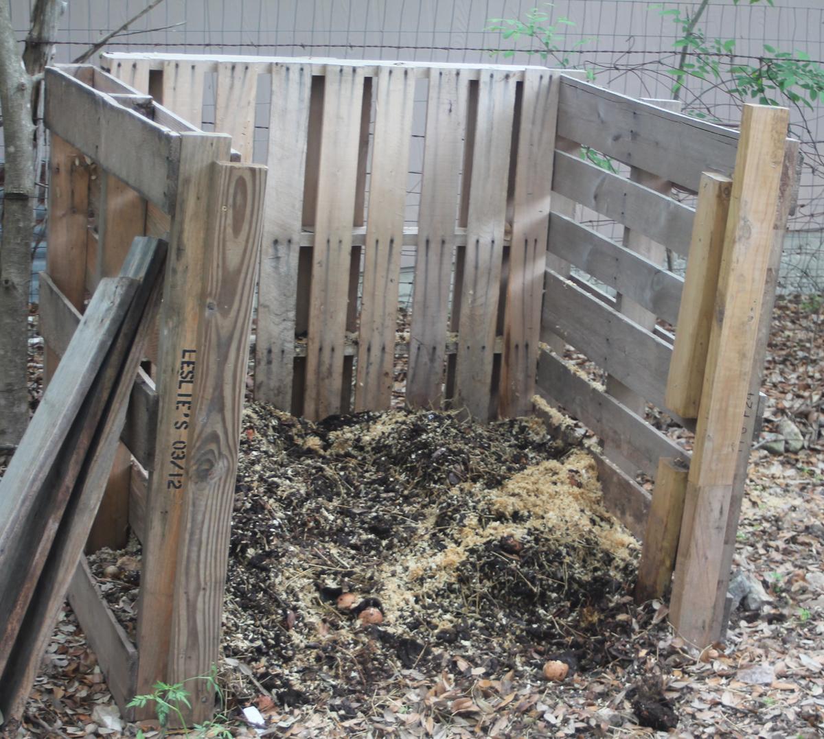 Making a compost pile - Making A Compost Pile 45