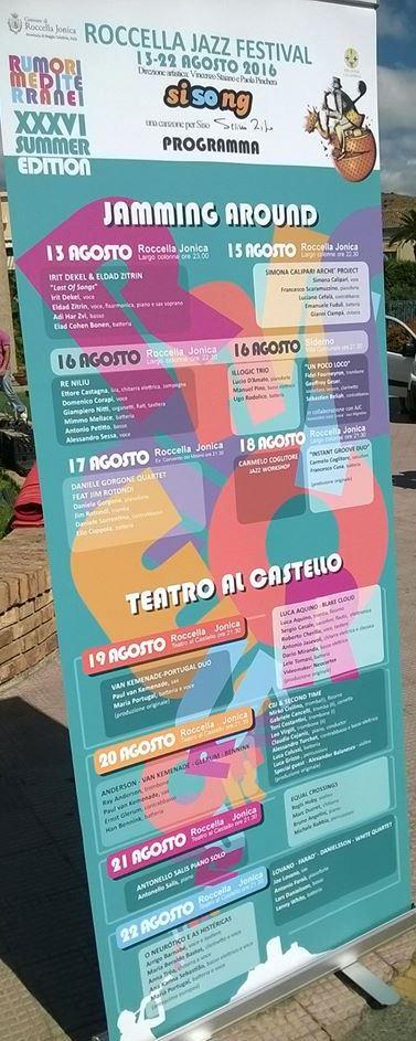 A Roccella Ionica  il Festival del Jazz 2016
