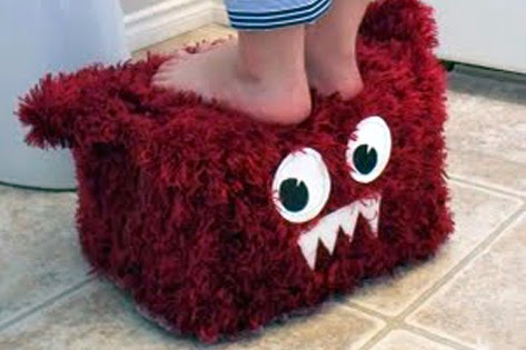 Monsterous Stepping Stool