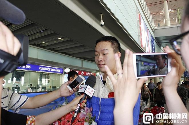 Le plus dangereux concurrent pour le Norvégien sera certainement le jeune Chinois de 16 ans Wei Yi, qui tentera de jouer la partie de sa vie face au champion du monde d'échecs en titre - Photo © Qipai.org