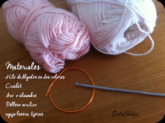 como hacer un chupete a crochet