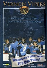 Vernon Vipers 2010-11 Program (Second Edition)