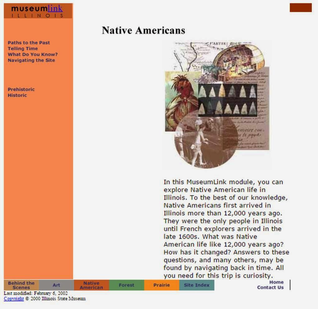 museumlinkIllinois. Native Americans Module