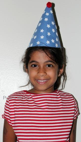 Kids Craft DIY Patriotic 4th of July Hats