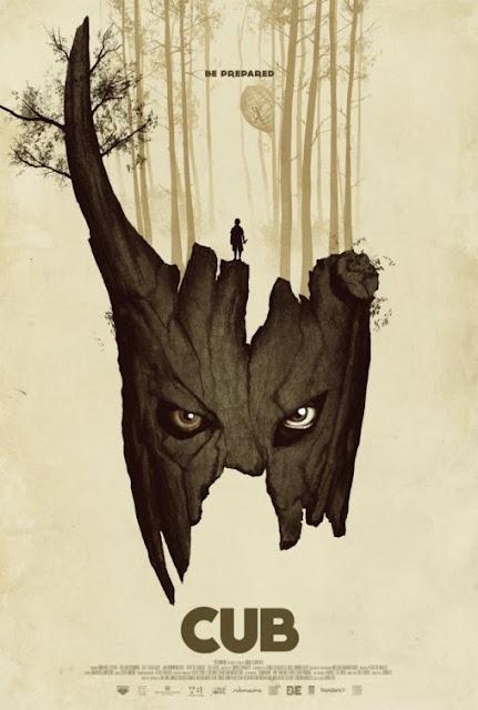 Cartaz Pôster Acampamento de Escoteiros monstro