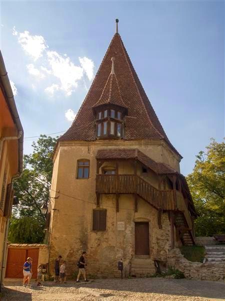 Torre de los zapateros (Turnul Cizmarilor) - Sighisoara