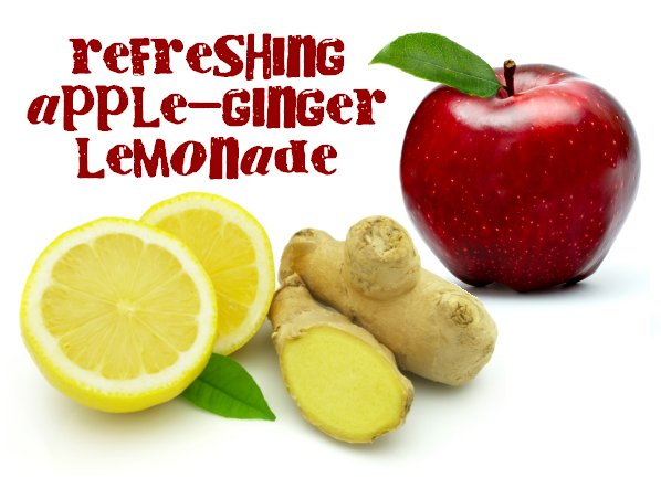 The Homesteading Cottage: Apple Ginger Lemonade Recipe