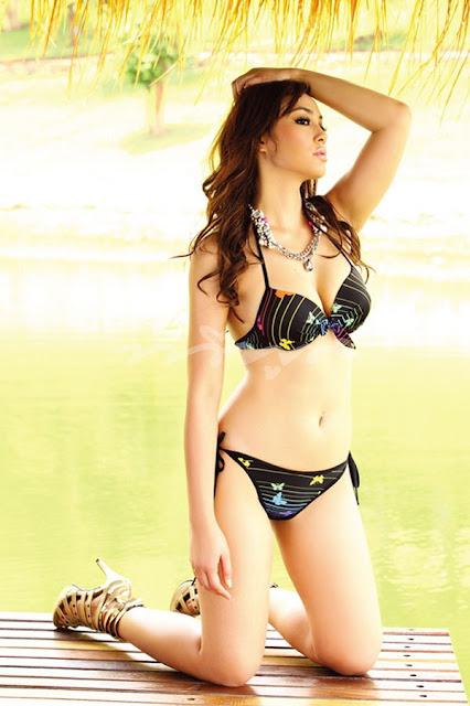 Bhongkosh Kongmalai in Bikini