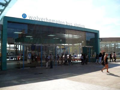 Wolverhampton's new Bus Station
