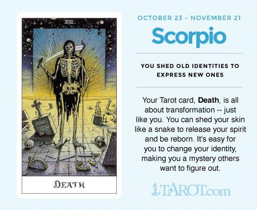 Scorpio Tarot: Death