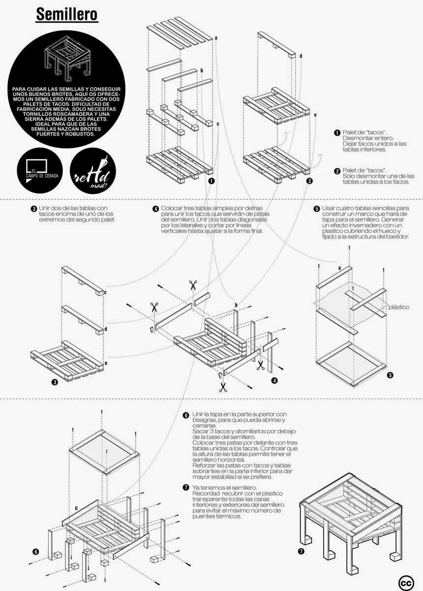 Varios planos para construir una for Sillas para planos
