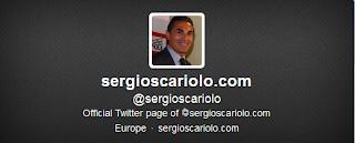 Imagen del Perfil en Twitter de Sergio Scariolo - Captura de pantalla extraída en http://twitter.com/sergioscariolo/