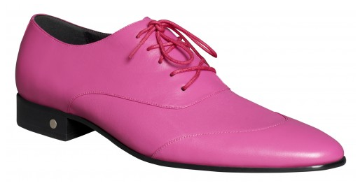 Hot Pink Mens Shoes Take Fashion to a Notch Higher