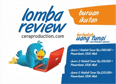 Lomba Menulis Review Cera Production 2013