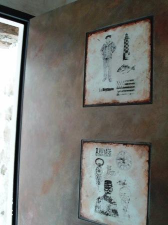 Relooker une porte cours peinture d corative meubles peints patin s - Relooker une porte ...