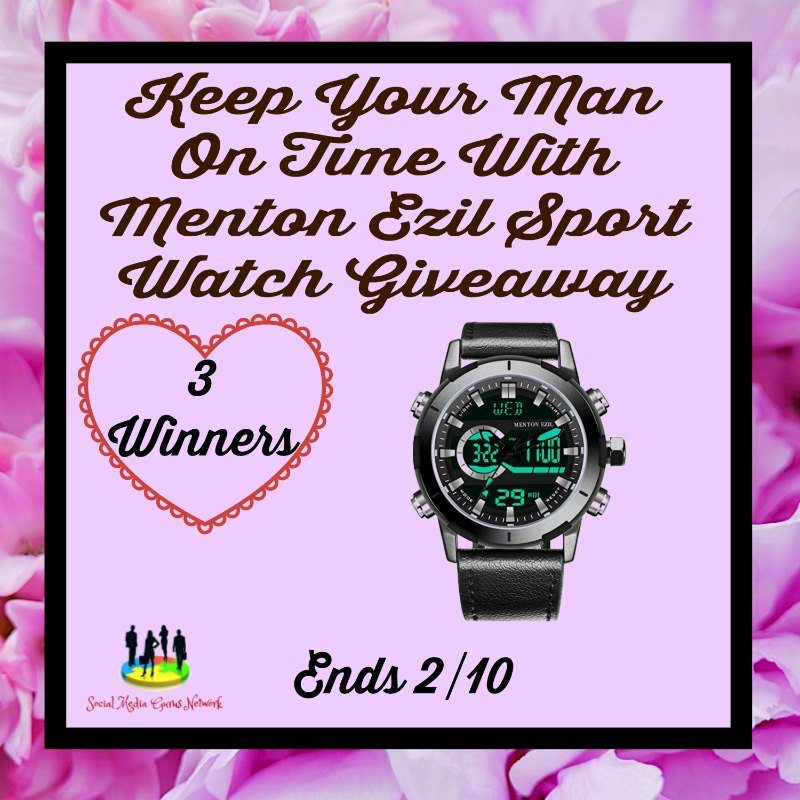 Keep Your Man On Time Giveaway