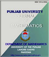 Punjab University Journal of Mathematics
