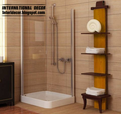 small bathroom decorating ideas and designs, wall shelves