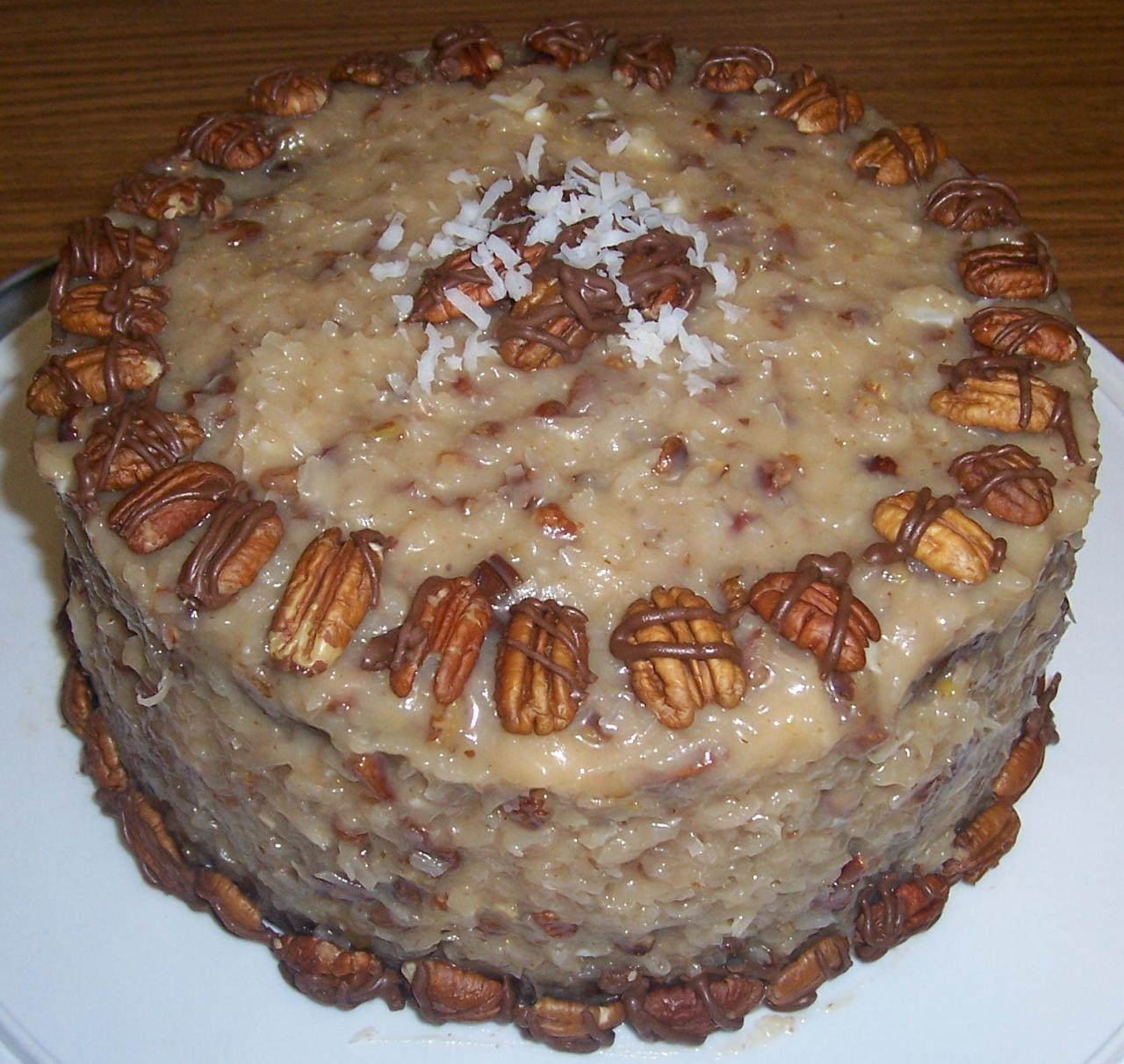 THE SAVVY SHOPPER: German Chocolate Sauerkraut Cake