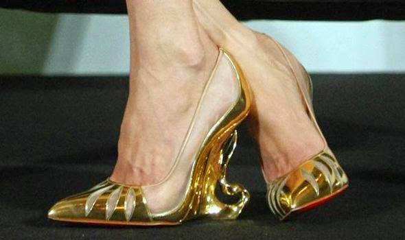 Image result for Angelina jolie maleficent themed shoes