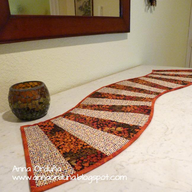 Camino de mesa en tela imagui - Camino mesa patchwork ...