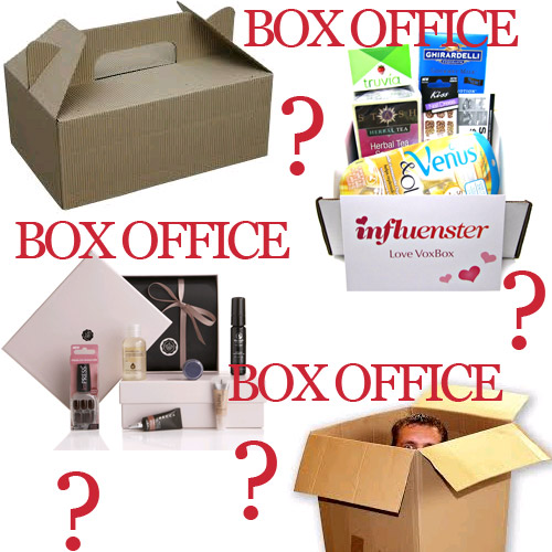 Box? Subscription box, normal box, vox box, glossy box